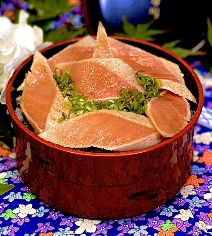 炙マグロ漬け丼