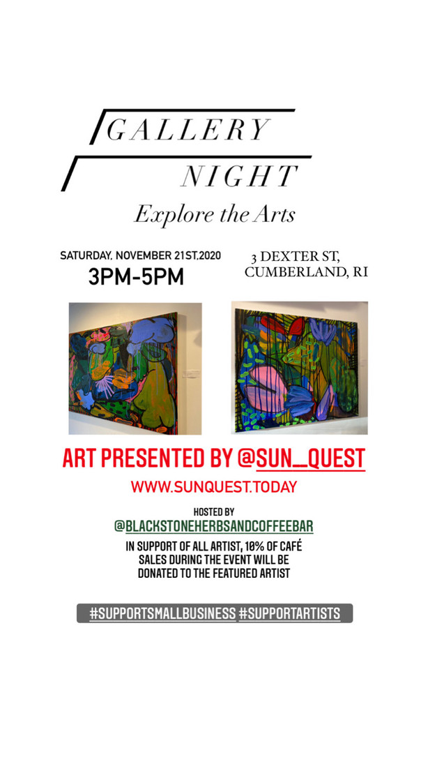 Our first Art Gallery night !