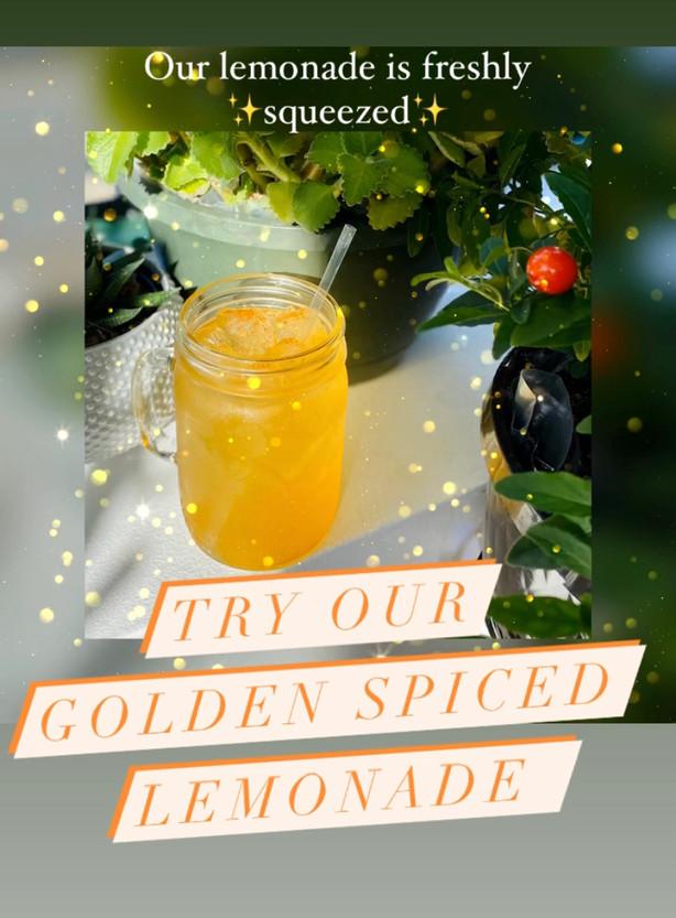 Freshly Squeezed Lemonade, with Golden S