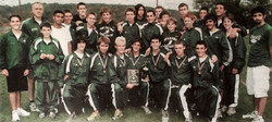Green Wave boys' cross country 2007 state class 'L' champions 2