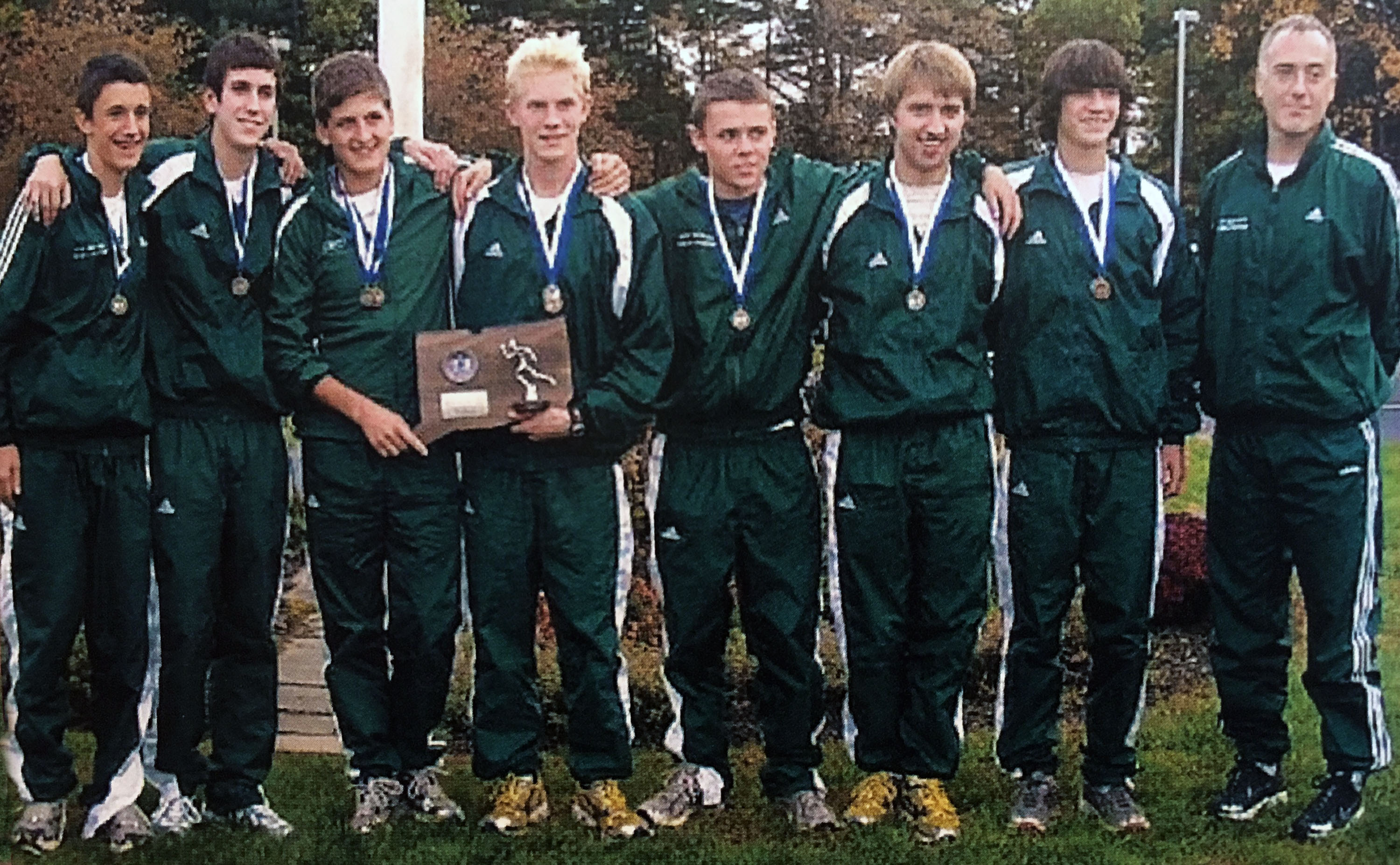 Green Wave boys' cross country 2007 state 'L' champions
