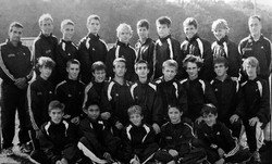 Green Wave boys' cross country 2002 state 'L' champions (2)