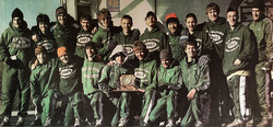 Green Wave boys' cross country 2003 state 'LL,' state open and New England champions