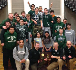 Green Wave wrestling 2014 state 'L' champions