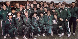 Green Wave boys' cross country 2004 state class 'LL' and New England champions 3