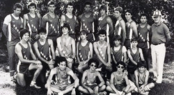 Green Wave boys' cross country 1984 state 'L' champions