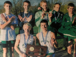 Green Wave boys' cross country 2012 state class 'L' champions 2