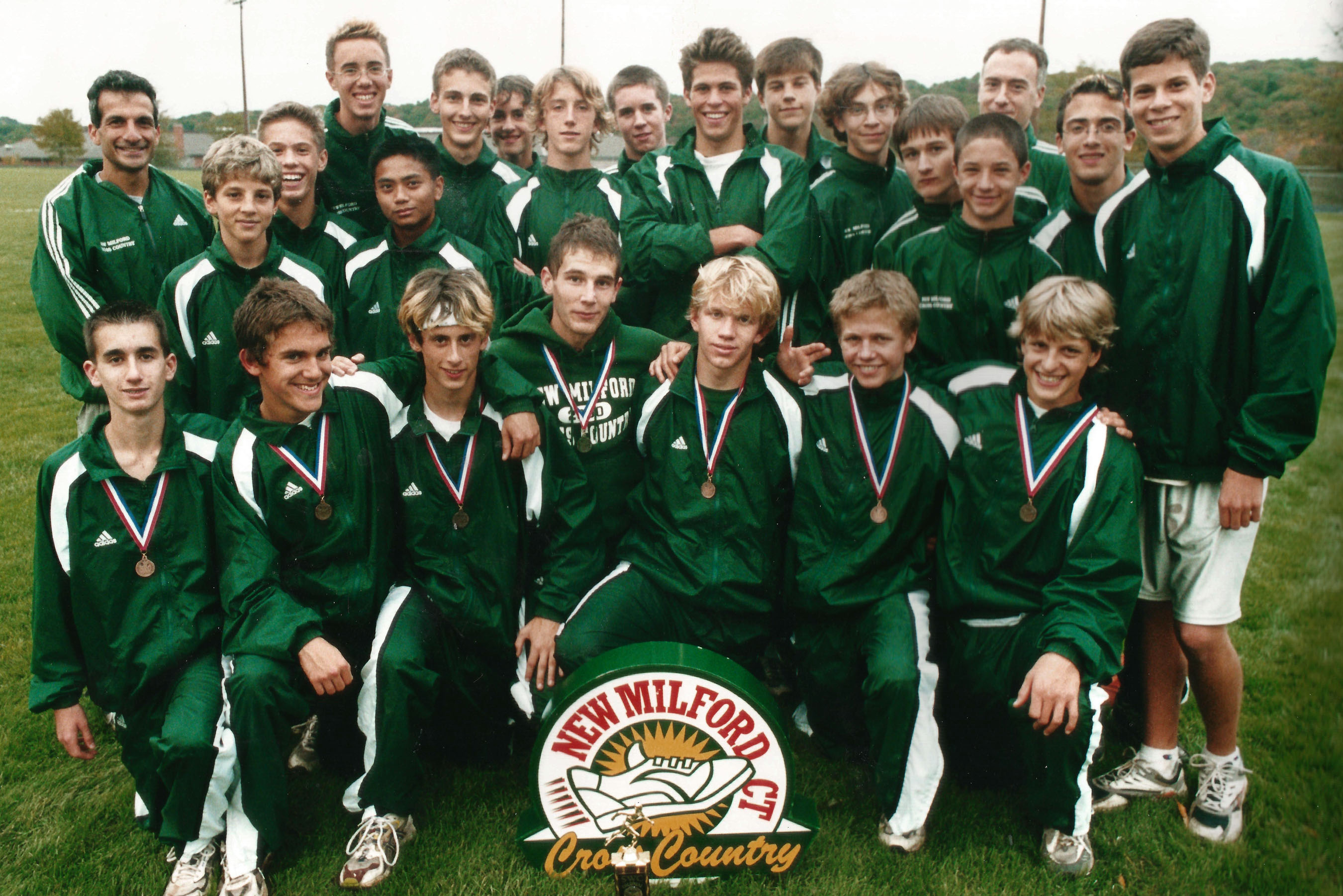 Green Wave boys' cross country 2002 state 'L' champions