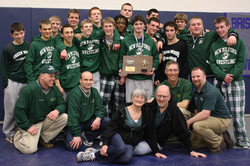 Green Wave wrestling 2011 state 'L' champions