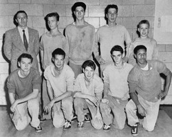 Green Wave boys' cross country 1959 state 'C' champions