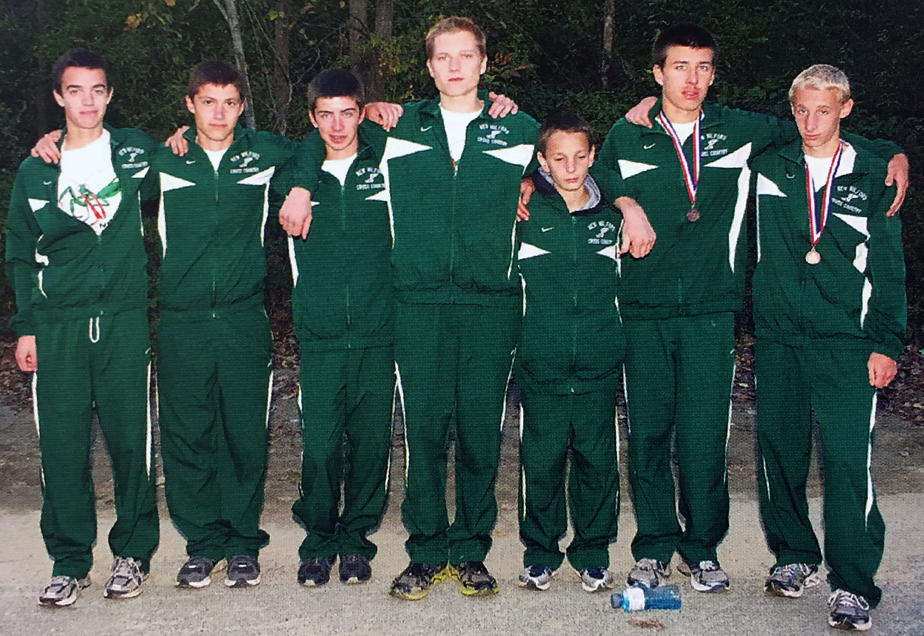 Green Wave boys' cross country 2012 state open champions (2)
