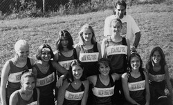 Green Wave girls' cross country 1997 state 'L' champions