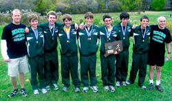Green Wave boys' cross country 2009 state 'L' champions (2)