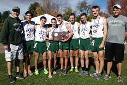 Green Wave boys' cross country 2014 state 'L' champions (2)