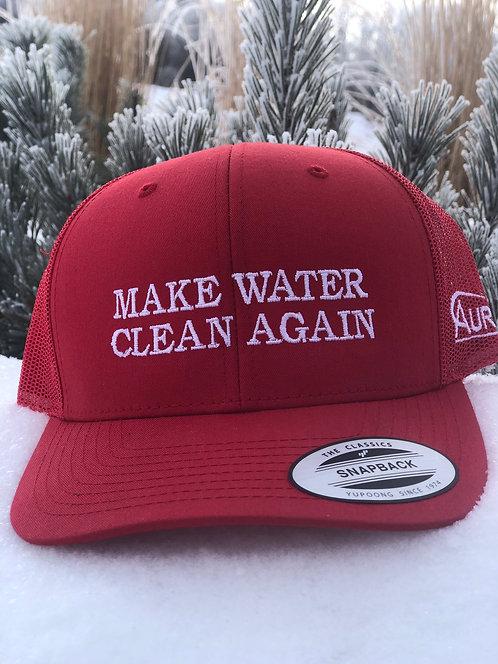 MAKE WATER CLEAN AGAIN SnapBack Retro Trucker