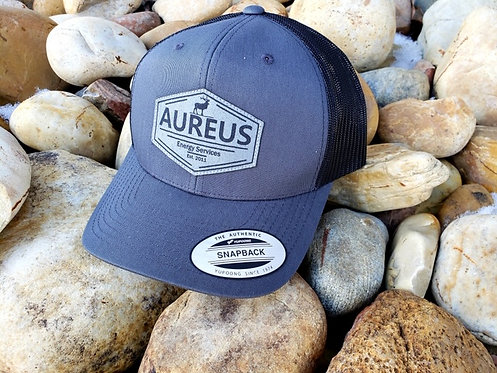 Charcoal Trucker With Aureus ELK Patch