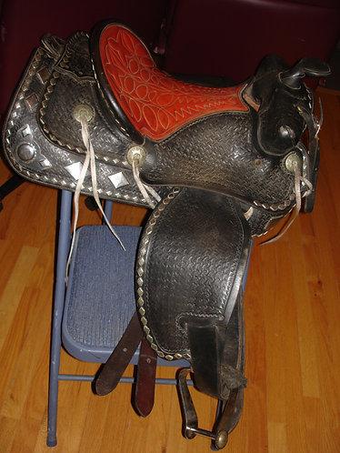 Parade (Western) Saddle - 15in, #163