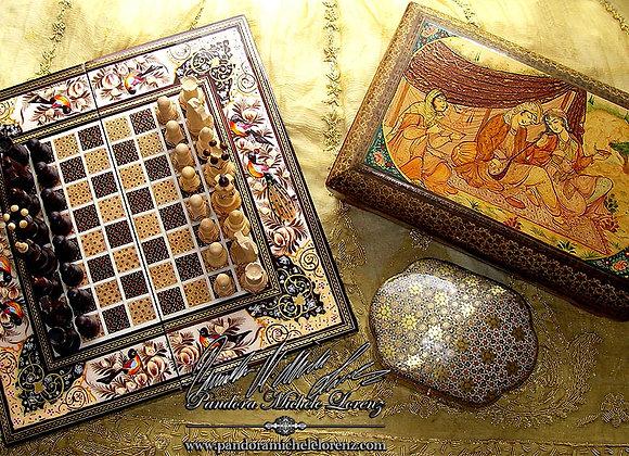 Tisch-Schachspiel Persien