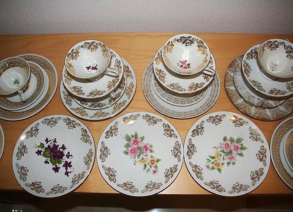 Porzellan Kuchenteller oder Dessertteller