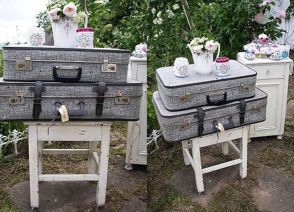 Antike Koffer - Schwarz & Weiß