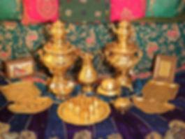 Tischdekorationen, Tischdeko, Centerpiece, Arrangements, Buffetdeko, Events, Galas, Hochzeit, Weihnachtsfeier, Orient, Indien, Bollywood, Barock, Golden, Märchen, Weihnachtliches, Piraten, Verleih, Vermietung, Mieten, Gesteck, Blumen, Hochtzeitsdeko,