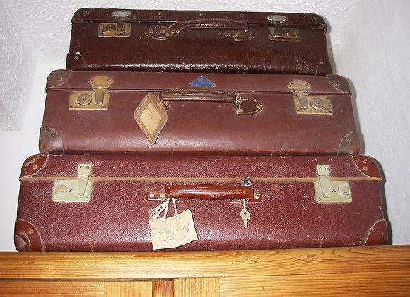 Antike Koffer - Braun