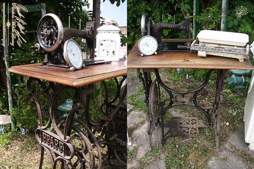 antike n hmaschinen einzigartige luxus antik event designer themenwelte dekorationen. Black Bedroom Furniture Sets. Home Design Ideas