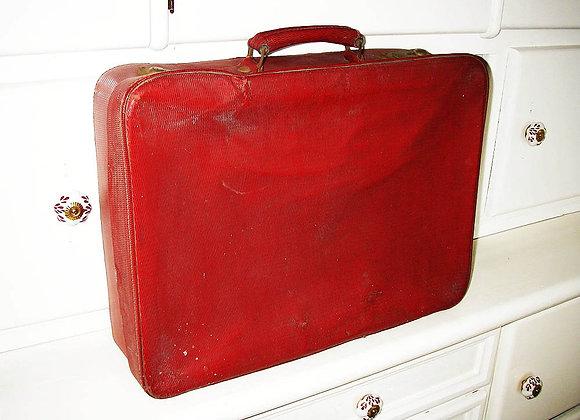 Antike Koffer - Rot