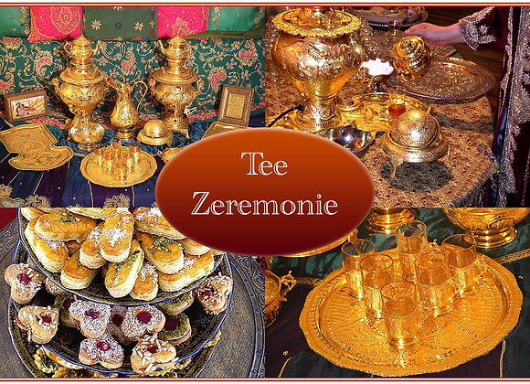Orientalische Teezeremonie
