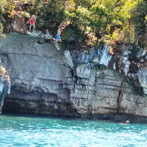 Jumping at Foki