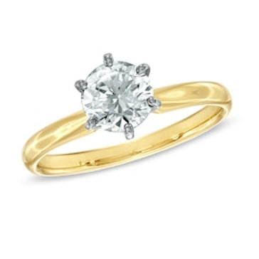 1 CT. Certified Diamond Solitaire