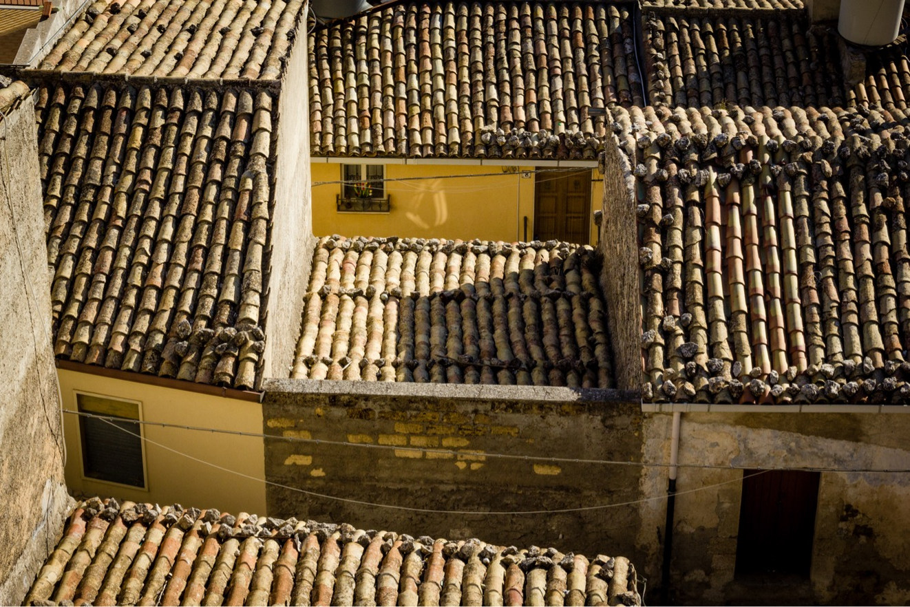 Rooftops of Caltabellotta
