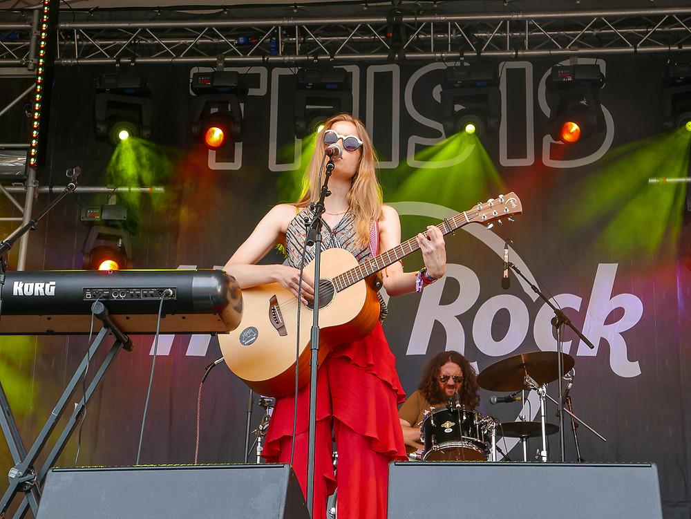 Gypseyfingers, Hard Rock Stage, Isle of Wight festival 2018