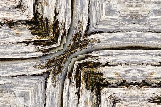 Painted oak