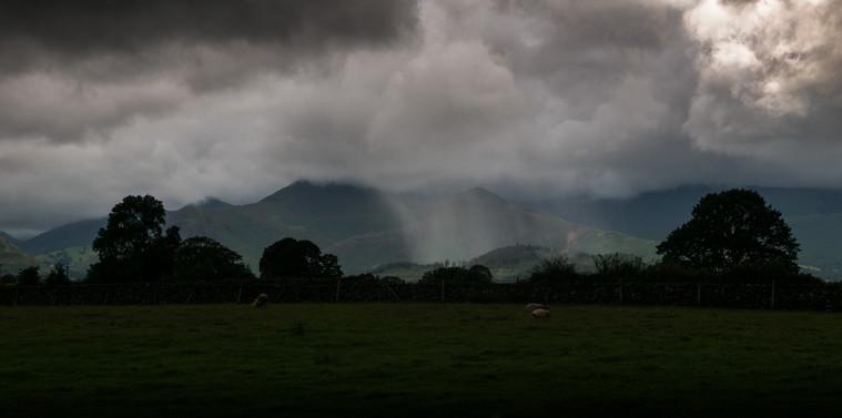 Rain over Keswick