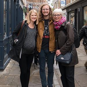 Sarah, Tom & Liz