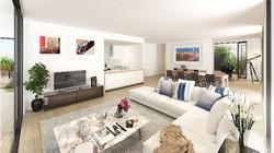 LINK Royal Shores living room