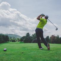 Golfing at Buterut Creek Golf Course