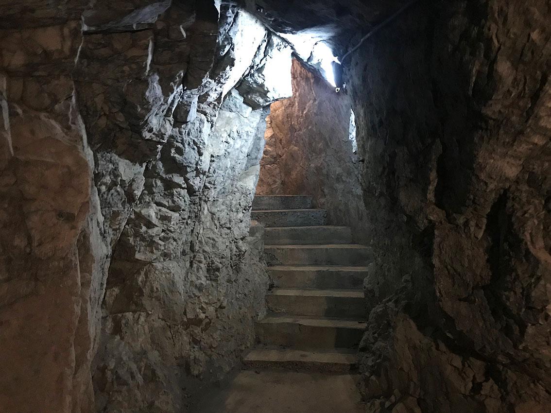 Il bunker della Prima Guerra Mondiale