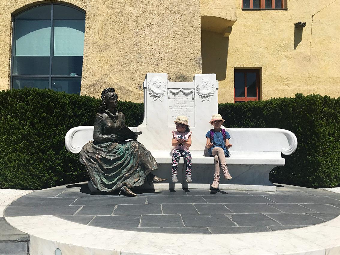Una foto con la principessa Sissi