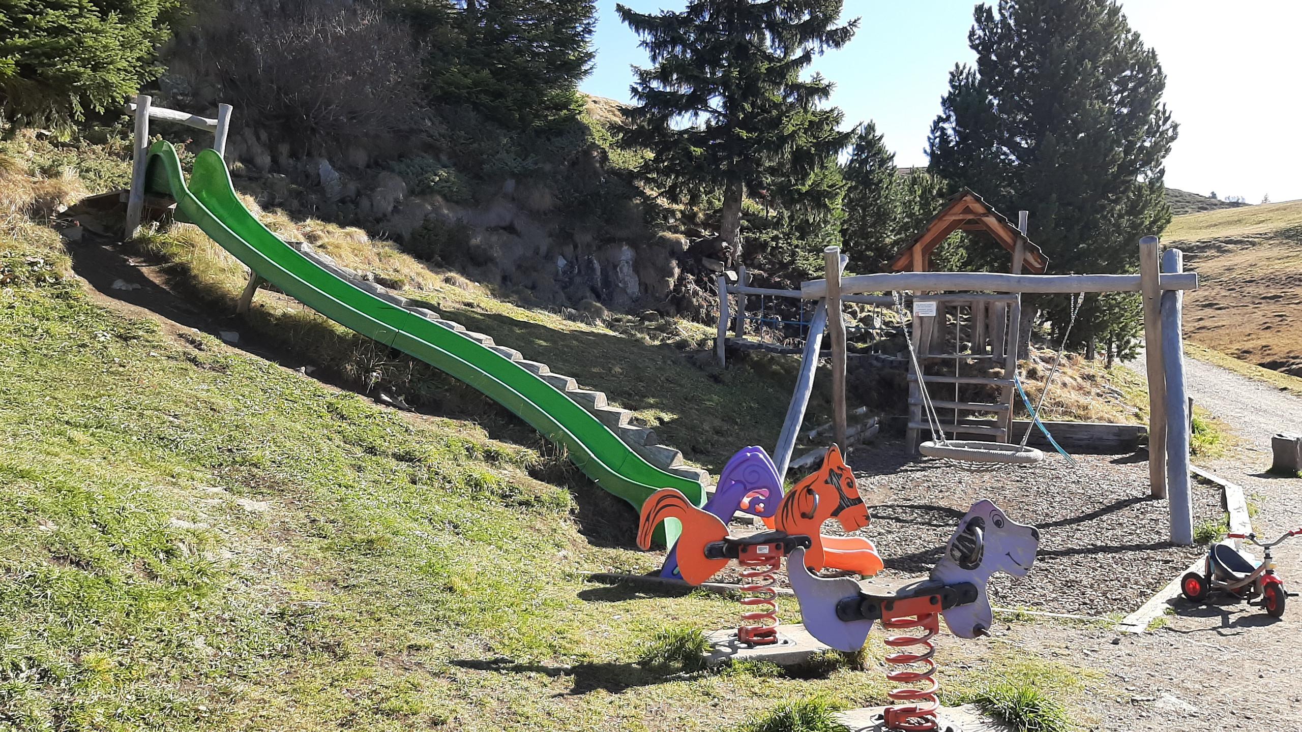 "Alpe di Siusi, sentiero ""Bullaccia - Puflatsch"", malga Arnika"
