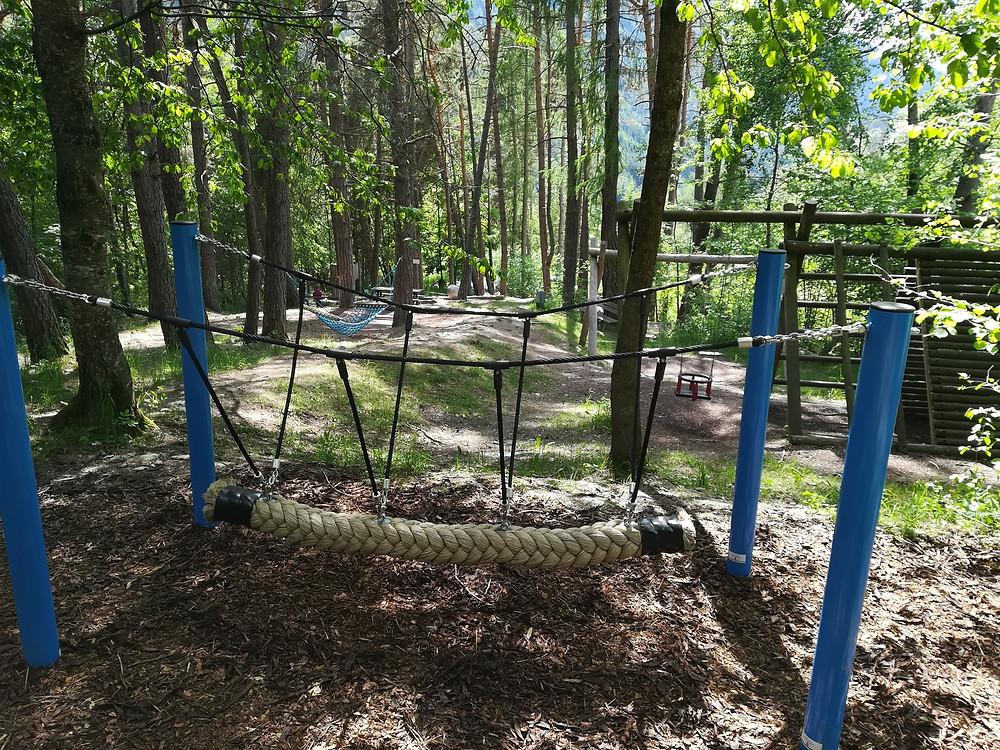 Parco giochi nel bosco _ Luson
