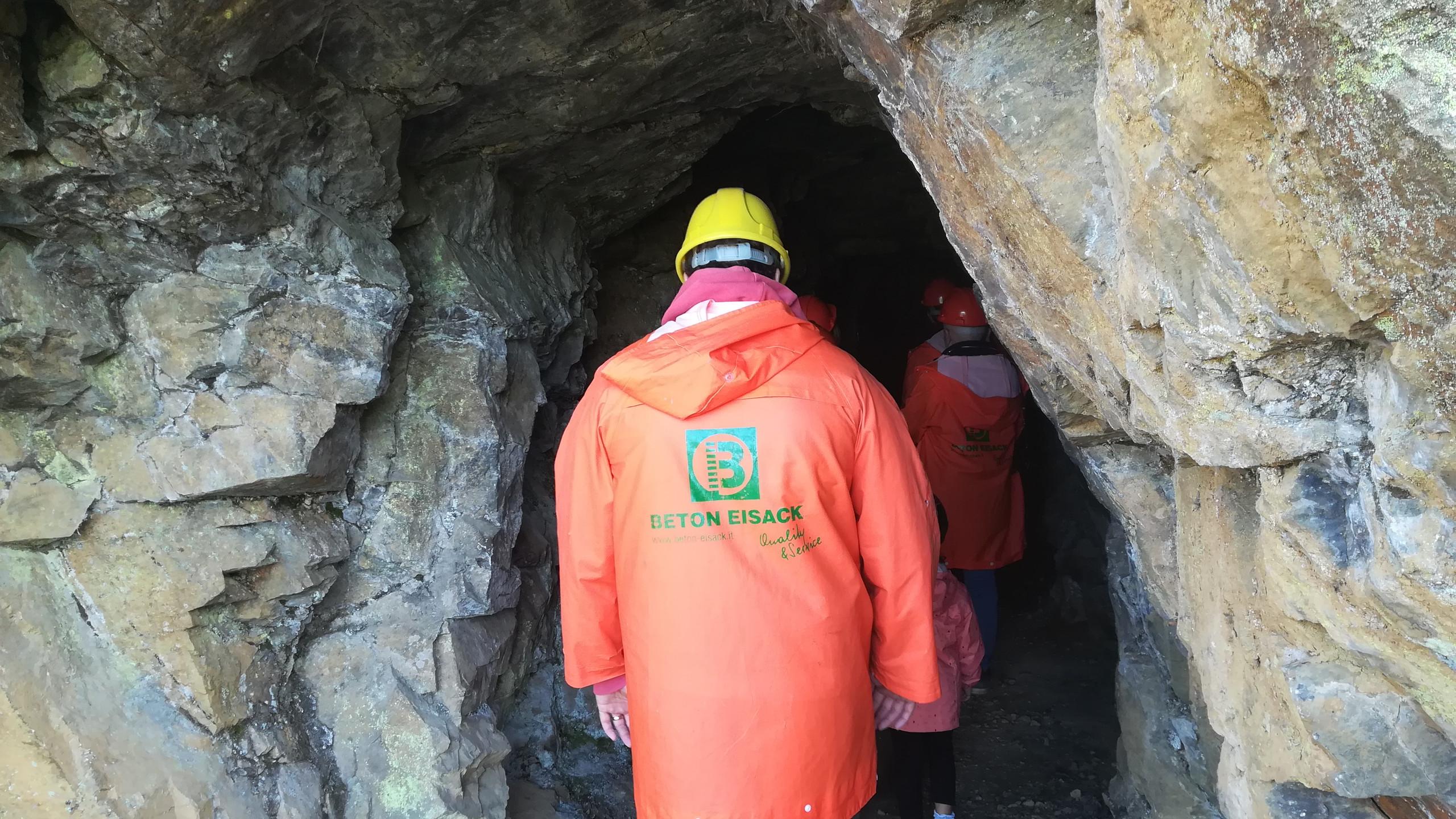 Miniere di Villandro, ingresso