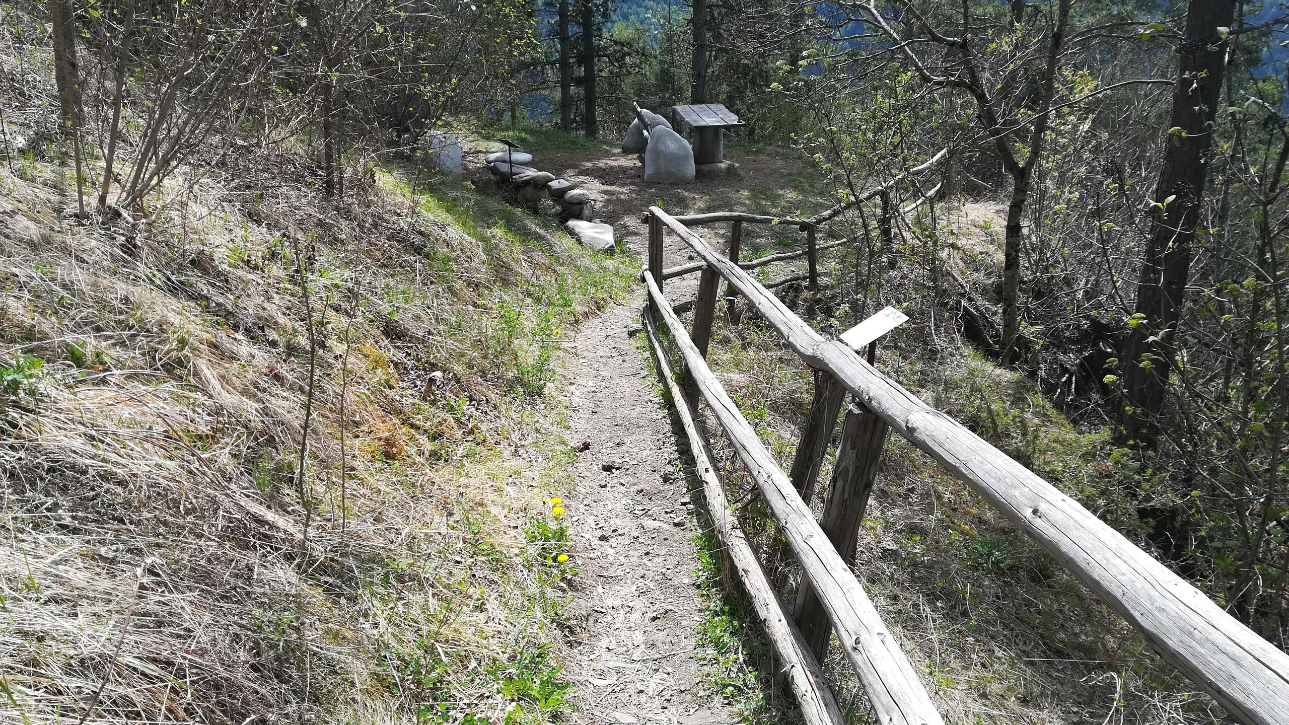Sentiero geologico di Tiso
