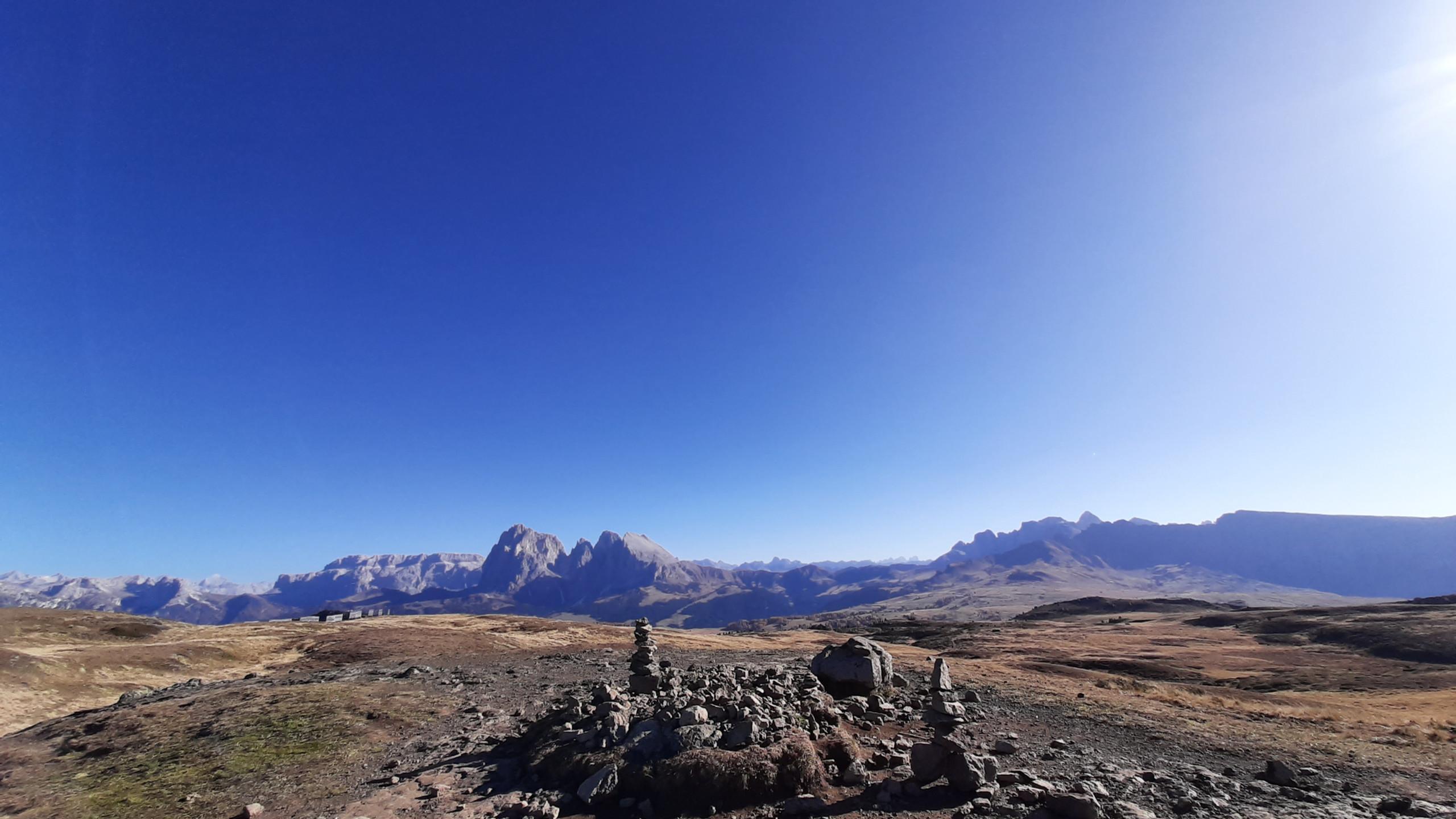 "Alpe di Siusi, sentiero ""Bullaccia - Puflatsch"""