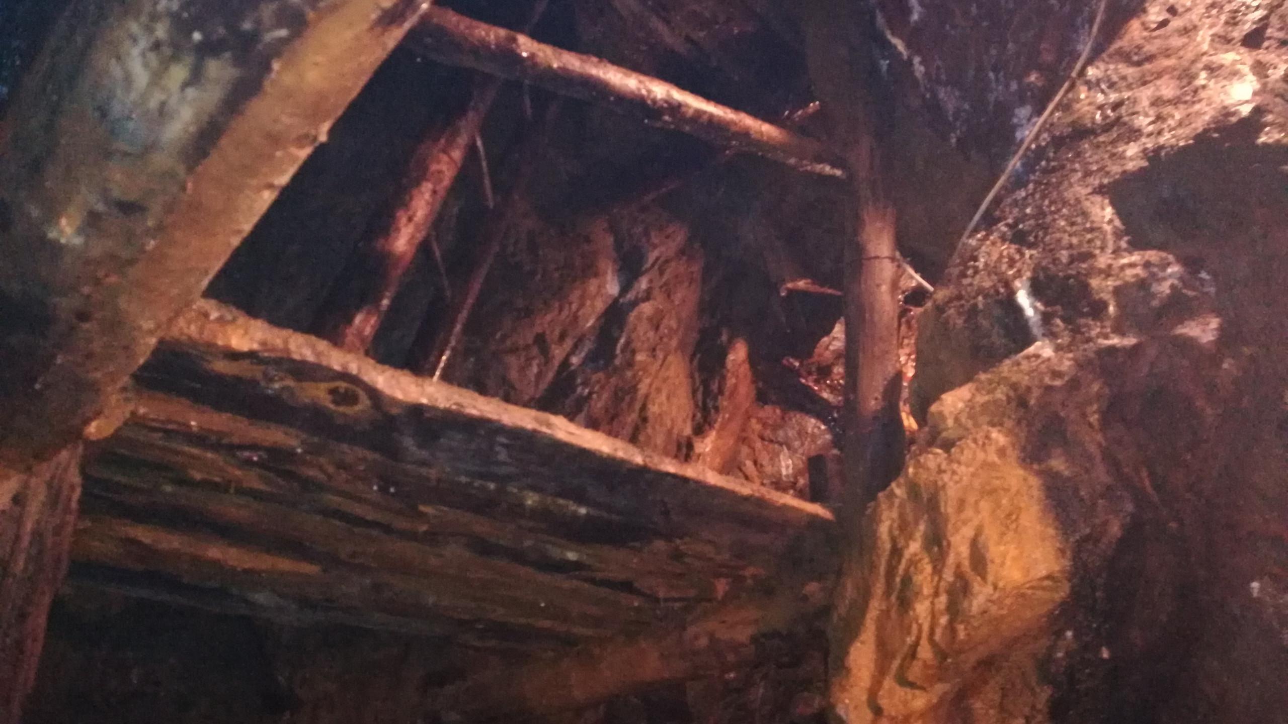 Miniere di Villandro, interno