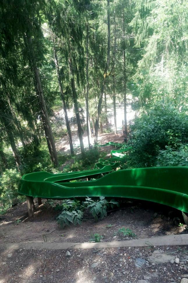 Kinderwelt, Valdaora - lo scivolo di 56 metri