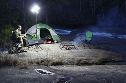 Bring it with you camping, hunting or fishing!