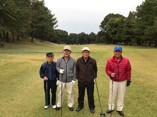 鷹揚同窓会95周年記念ゴルフコンペ開催