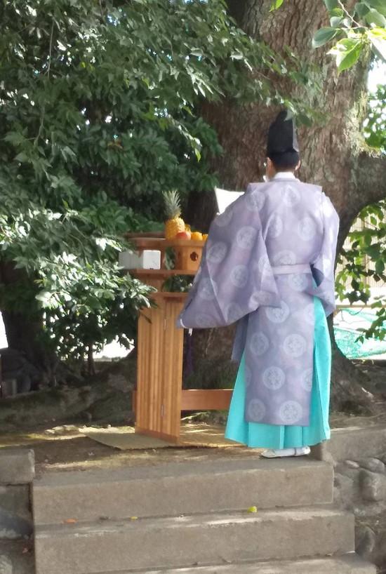 山伏さんの神事